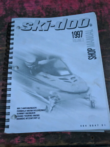 Ski-doo Factory Shop Manual 1997