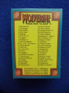 Marvel Wolverine From Then Til Now 2  92  Comic Images Base Set