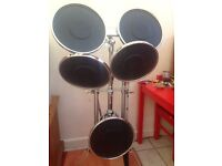 Practice drum kit pads
