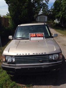 2001 Land Rover Range Rover SUV, Crossover