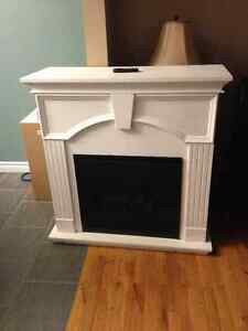 Electric Fireplace (white)