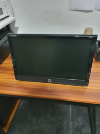 Compaq pc monitor with built-in speaker