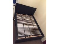 IKEA Malm double bed AND/OR Hamarvik mattress 9 months old