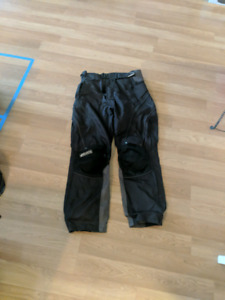 Mens  Motorcycle Riding Pants Large $40 obo.