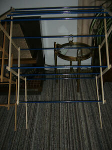 Folding Wood Clothes Dryer Rack/Stand