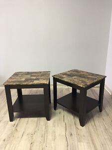 Laminate Side Tables (2)
