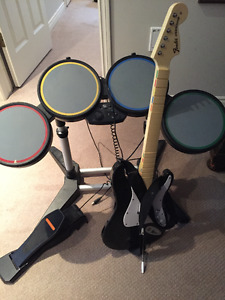 Rock Band set