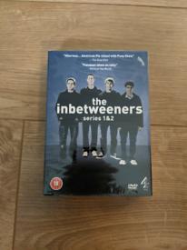 DVD's The Inbetweeners series 1 & 2