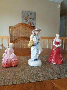 3 ROYAL DOULTON FIGURINES
