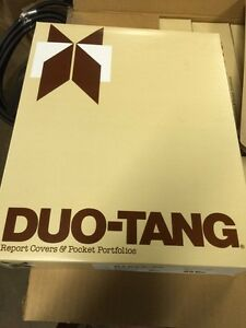2500 brand new Duo-Tang folders in boxes of 25