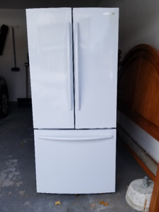 Samsung French Door Fridge - white