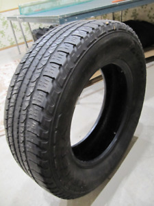 One Goodyear Fortera R18 Tire - Ideal for spare