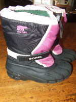 Girls Youth Sorel Winter Boots sz. 6