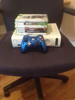 Xbox 360 15gb 5 games and a controller