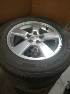 215 60 16 Michelin Premier on OEM Chevy Cruze alloys 5x105 TPMS
