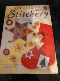 Christmas stitchery craft book