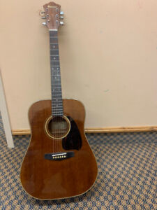 Ibanez Acoustic Guitar with Hard Case