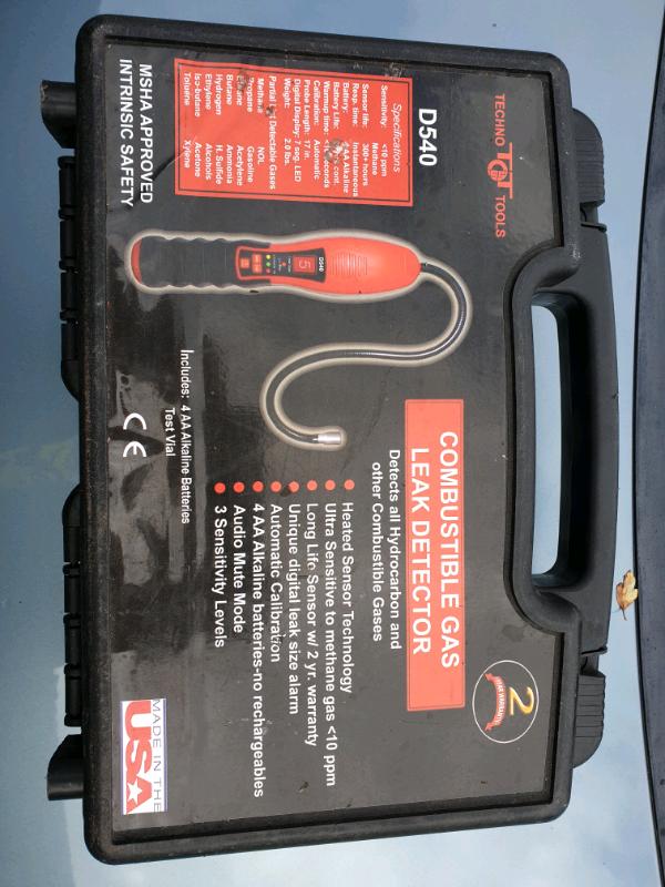 D540 Combustible Gas Leak Detector