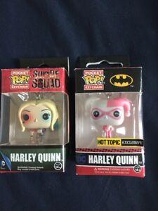 Mini Pop keychains-Harley Quinn