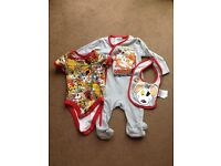 Mothercare danger mouse set never worn age 3-6 month
