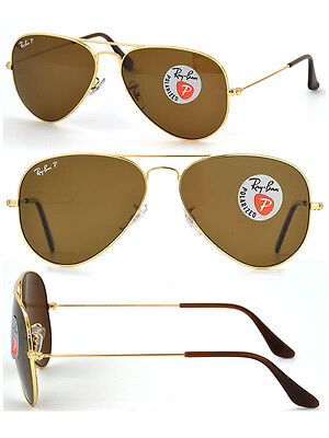 ray ban luxottica polarized  ray ban aviator rb3025