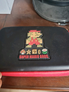 Modded New 3DS XL with carry case and sd card