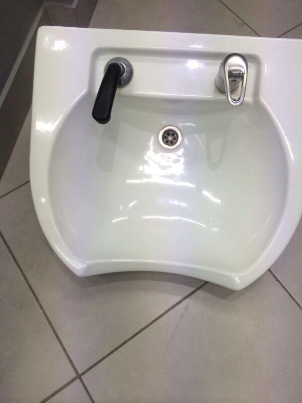 Rem barber hairdresser salon front wash basin sink in for Salon basins for sale