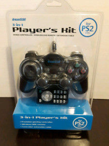 PS2 PlayStation 2 3 in 1 controller