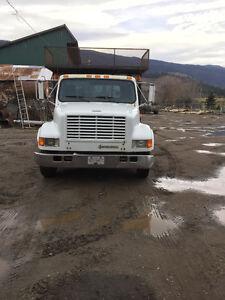International service truck