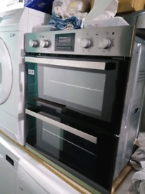 ➡️➡️OFFER⬅️⬅️STAINLESS STEEL ZANUSSI BUILT UNDER ELECTRIC DOUBLE OVEN