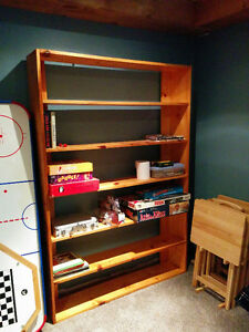 Sturdy Wooden Bookcase