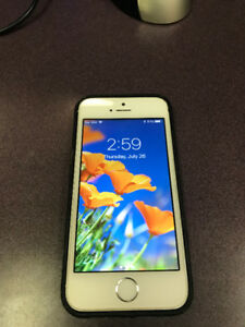 IPHONE 5S SILVER 16 GB ROGERS