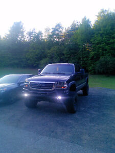 Lifted 2002 gmc 1500hd