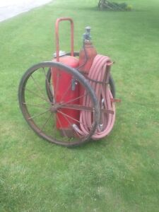1950's / 1960's Antique Wheeled Fire Extinguisher