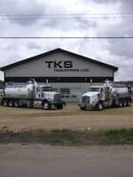 WANTED: Experienced Vacuum and Water Truck Operators