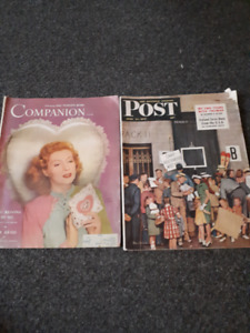 magazines from the 40s