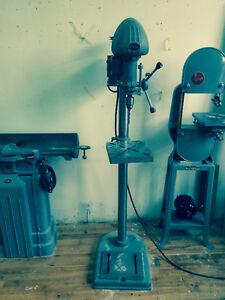 1940s reconditioned drill press