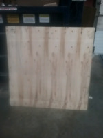 Free 4 x 4 sheets of Plywood.  Not construction grade.