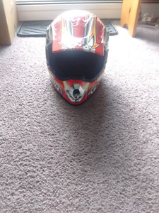 Selling a dirtbike helmet Size: L/ Large  for $35