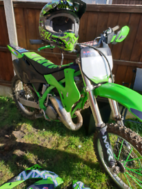 Kx 125 Off Road Fully Loaded