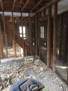 Interior/Exterior Demolition Services
