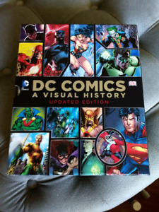 DC comics a visual history book