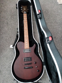 Dean electric guitar and case