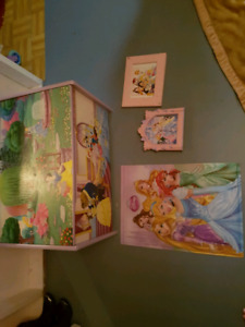 Princess dressup trunk and accessories