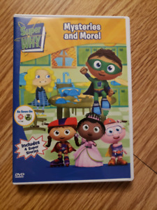 Super Why Dvds