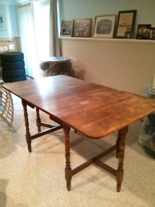 Gate Leg Table With Leaf