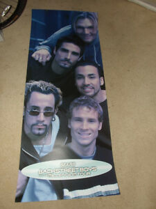 "FS: 1999 The Back Street Boys ""Into The Millennium World Tour"" P"
