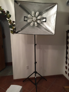 4 Photography Light Stands - LIKE NEW, AMAZING PRICE!