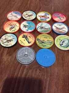 Jello airplane plastic coins $30 for all