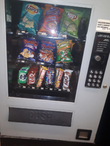 Vending machine or route
